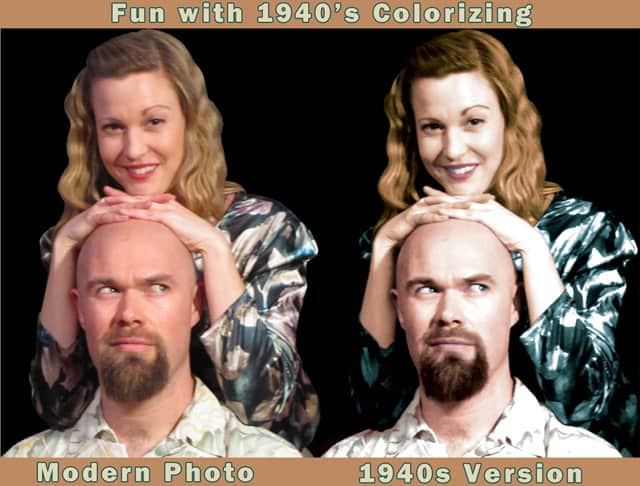 How to: 1940s colorizing