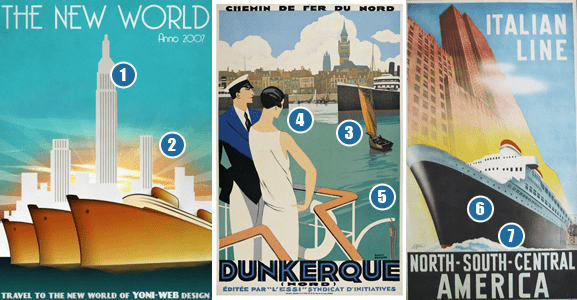 Sample Art Deco Posters