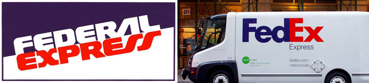 Federal Express's Fed-Ex rebrand was a huge success