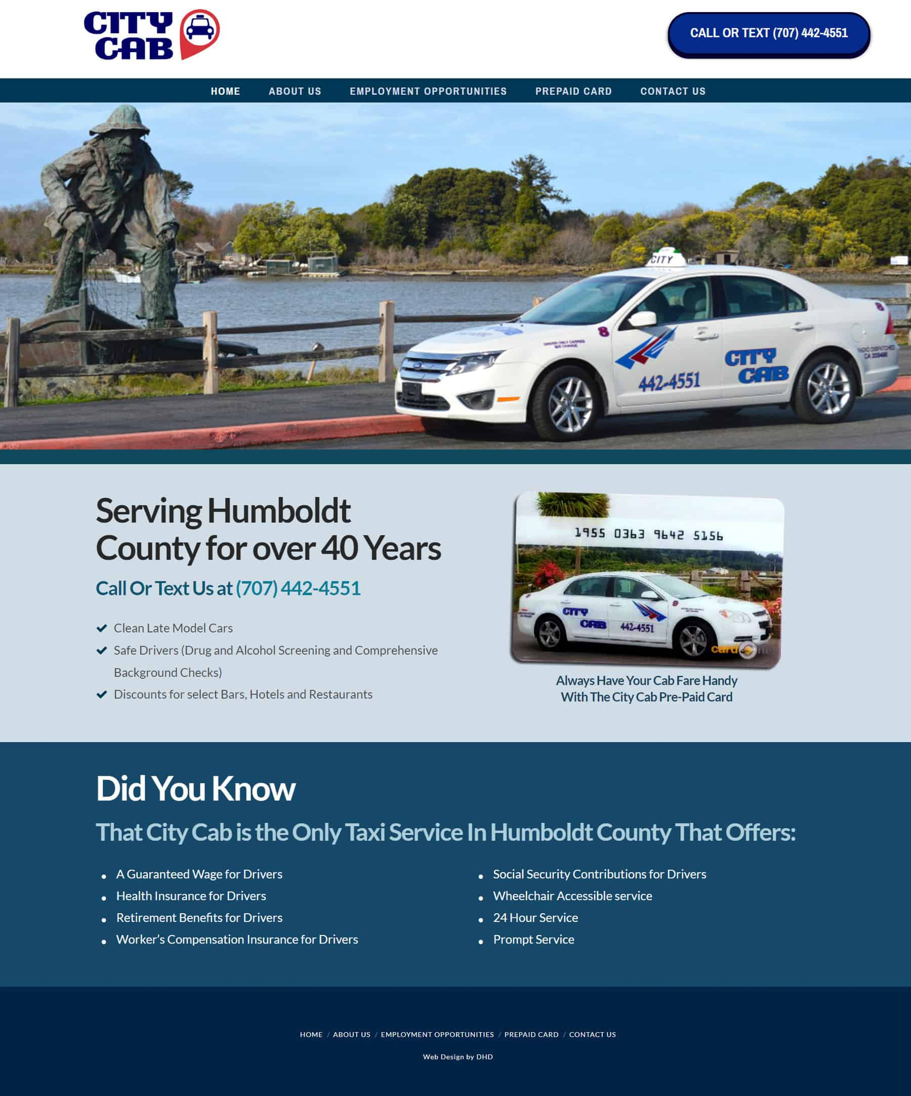 City Cab Humboldt County Website