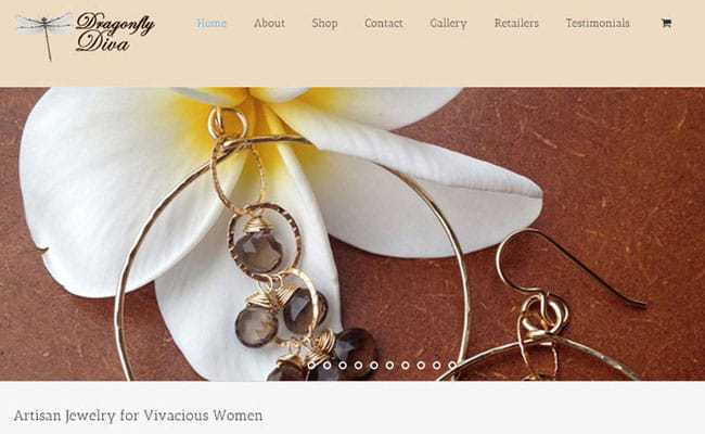 Dragonfly Diva Artisan Jewelry